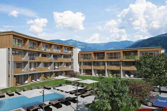 29 Luxusappartements in Zell am See als Anlegerwohnung Top15