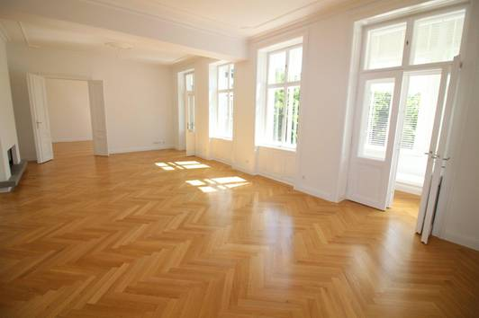 Wunderschöne 178 m² Stilaltbau-Wohnung! Grünruhelage mitten in Döbling! 3 Schlafzimmer, Wohnsalon!