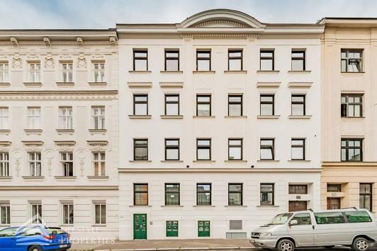 Saniertes Zinshaus mit genehmigtem Dachbodenausbau, Nähe Karl-Kantner-Park