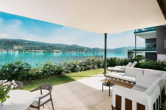 Hermitage Luxury Lake Apartment - Rarität direkt am Wörthersee, Golfplatz Dellach und Velden