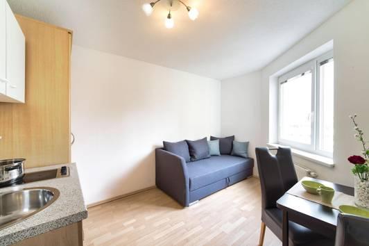 Ruhelage & provisionsfrei: charmantes 1-Zimmer-Appartement - Ideal für Singles, Pendler oder als Übergangslösung!