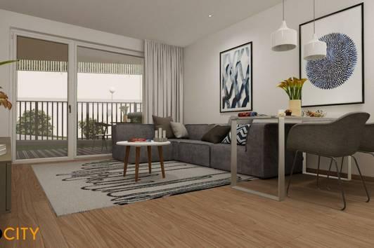 Gartentraum (Top 6), 2 Zimmer, Provisionsfrei, Erstbezug, Erstklassige Ausstattung, Neubau, luxuriös + Garage