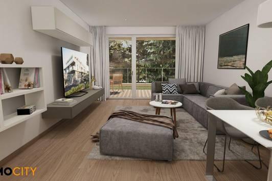 Gartentraum (Top 12), 2 Zimmer, Provisionsfrei, Erstbezug, Erstklassige Ausstattung, Neubau, luxuriös + Garage