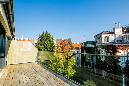 Luxus Dachgeschosswohnung - 3 Terrassen