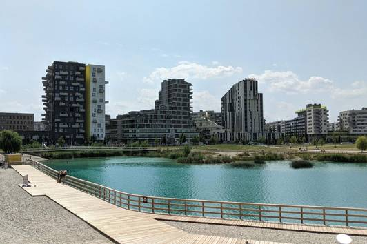 🏖️ Brand New Apartment with Lake View in Seestadt Aspern
