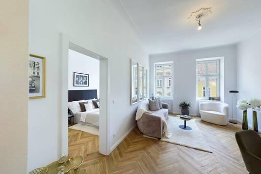 ++ Alt-Wien-Flair mitten in WÄHRING ++ exklusive, stilvolle 2-Zimmer Wohnung nahe dem Währinger Park