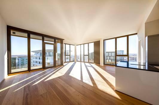 Klimatisiertes Luxus- Penthouse in Wien mit Abendsonne | Unbefristet und Provisionsfrei | Top 1804
