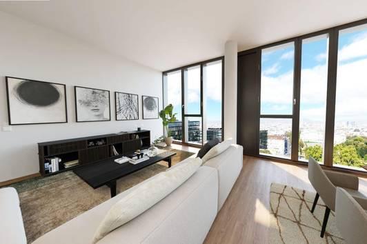 Einmaliges Penthouse mitten in Wien   Luxuriös, 3,20m² Raumhöhe, Freiflächen uvm.   TOP 1805