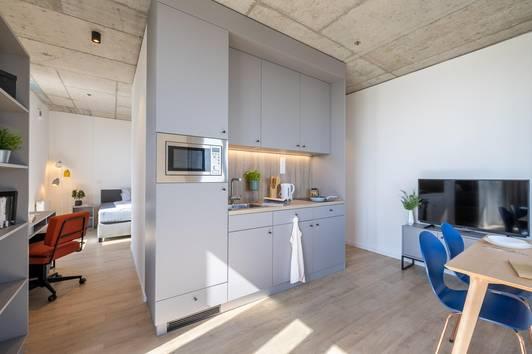 Wohnen im Linked Living TrIIIple - möblierte Apartments zur All-In Miete