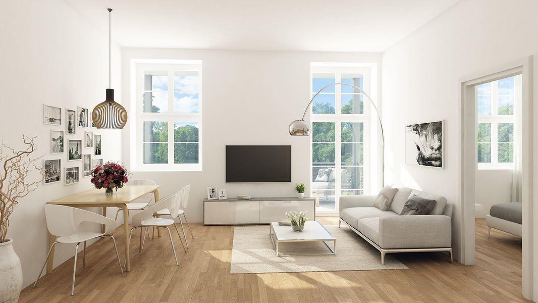 eigentumswohnungen in hanau lp 401 neubau von hermann immobilien gmbh in hanau. Black Bedroom Furniture Sets. Home Design Ideas