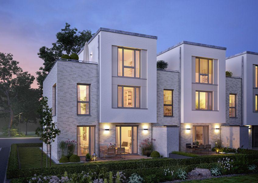 wohnen an der st nathanael kirche neubau von dipl ing. Black Bedroom Furniture Sets. Home Design Ideas