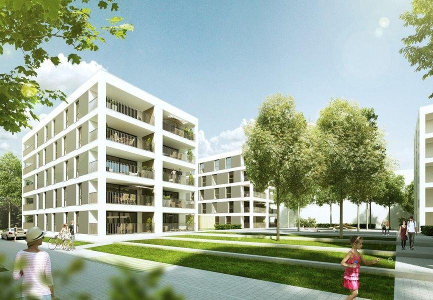 MA FRANKLIN Haus A - Neubau von GfB Gesellschaft für Betreuung ...