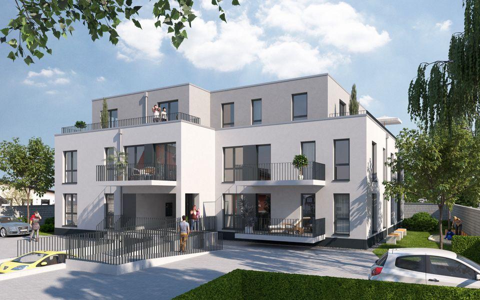 Mendener 11 - Neubau von VR Bank Rhein Sieg Immobilien GmbH in ... on