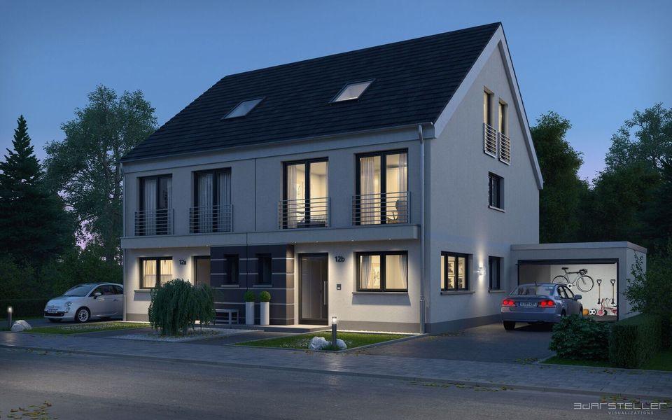 attraktive einfamilienh user neubau von ksk immobilien gmbh in troisdorf. Black Bedroom Furniture Sets. Home Design Ideas