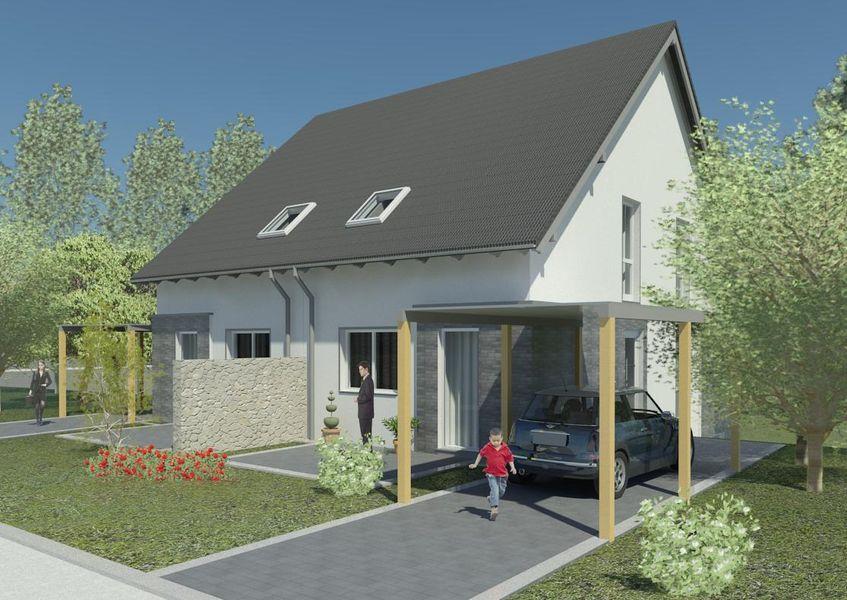 neubau von 6 doppelhaush lften neubau von sparkasse gevelsberg wetter in wetter ruhr. Black Bedroom Furniture Sets. Home Design Ideas