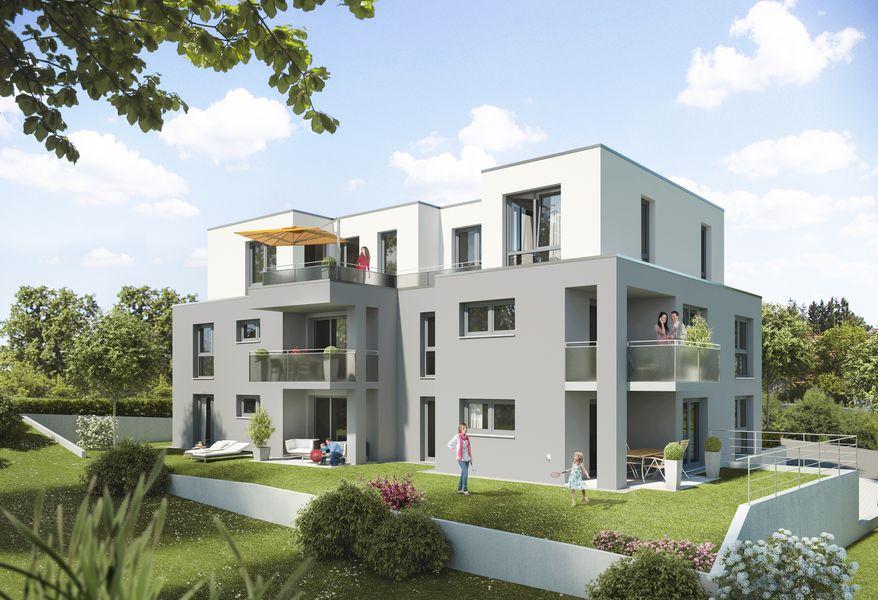 idyllisches wohnen in ruhiger wohngegend neubau von m rk. Black Bedroom Furniture Sets. Home Design Ideas