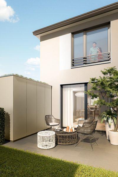 bottrop wohnpark 39 in der boy 39 neubau von deutsche reihenhaus ag in bottrop. Black Bedroom Furniture Sets. Home Design Ideas