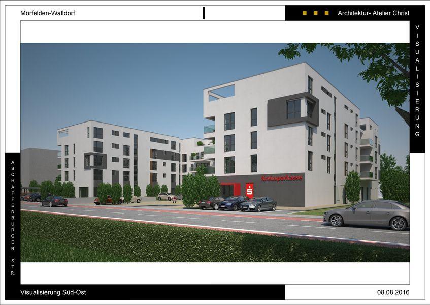 walldorfer stadt palais neubau von immobiliencenter der ksk gro gerau gmbh in m rfelden. Black Bedroom Furniture Sets. Home Design Ideas