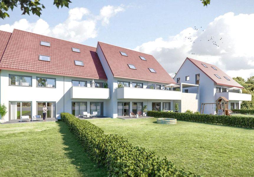 wohnen im gr nen neubau von sparkasse aschaffenburg. Black Bedroom Furniture Sets. Home Design Ideas