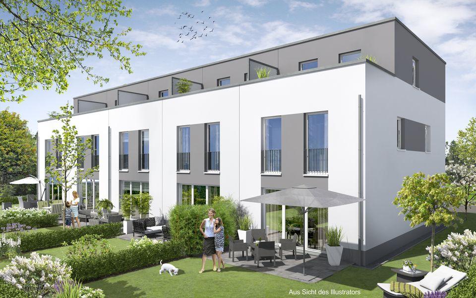 neubau mit keller wohnen am pappelweg neubau von sch ttke vertriebs gmbh co kg in hanau. Black Bedroom Furniture Sets. Home Design Ideas