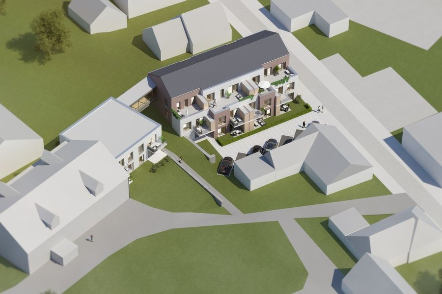 Barrierefreie Neubauwohnungen Melle Buer Neubau von