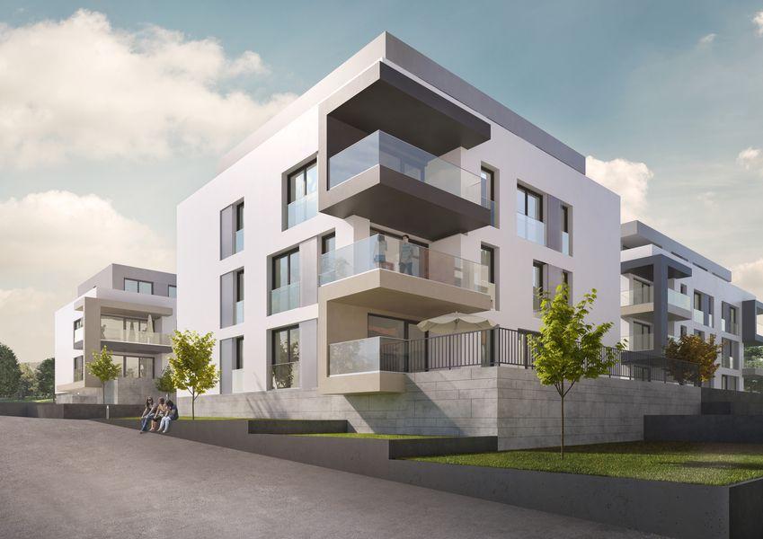 Wir schaffen lebensraum mit qualit t neubauprojekt in backnang bonhoeffer stra e for Wohnung mieten backnang