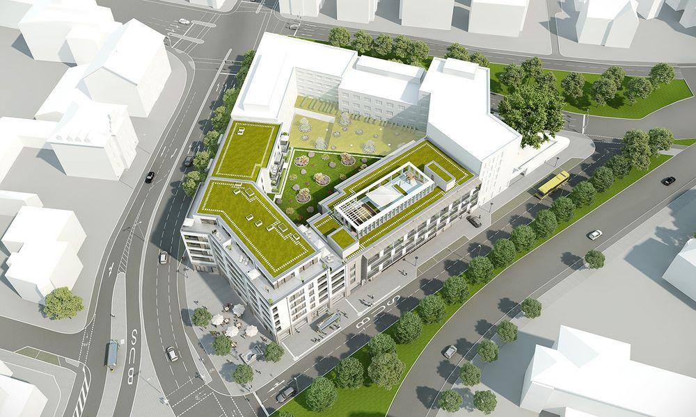 Urban Leben Am Stobäusplatz   Neubau Von VON POLL IMMOBILIEN  Geschäftsstelle Regensburg In Regensburg
