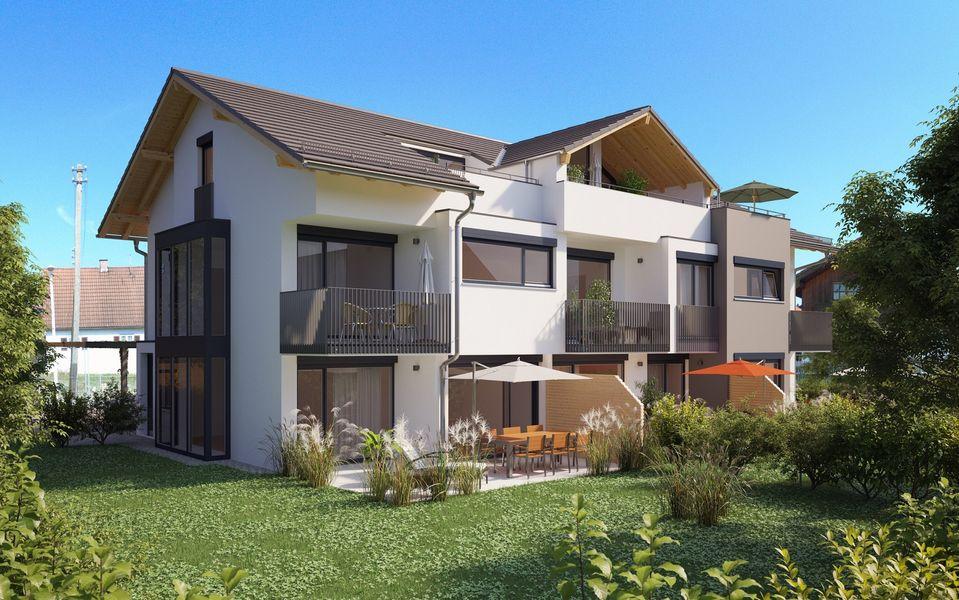 reihenhaus f r 3 parteien neubau von moser wohnbau gmbh in kolbenmoor. Black Bedroom Furniture Sets. Home Design Ideas
