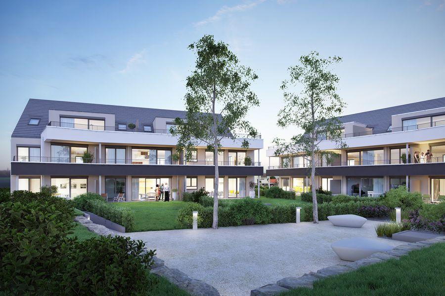 wohnen leben in kirchheim teck neubau von brutschin wohnbau gmbh in kirchheim unter teck. Black Bedroom Furniture Sets. Home Design Ideas