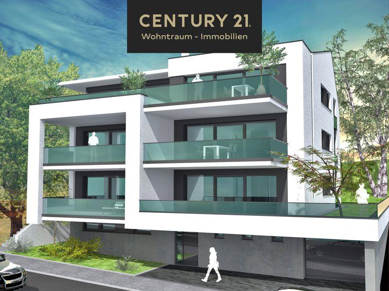 Wohnen am zentrum neubau von century21 wohntraum immobiien wohntraum immobilien gmbh co kg for Wohnung mieten backnang
