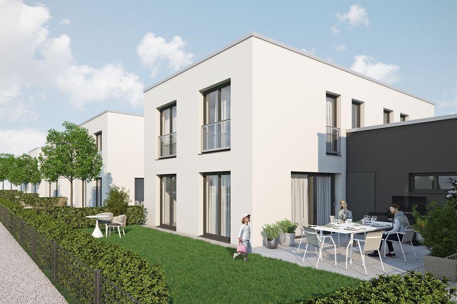 12 moderne einfamilienh user neubau von cuffaro immobilien in stutensee b chig. Black Bedroom Furniture Sets. Home Design Ideas