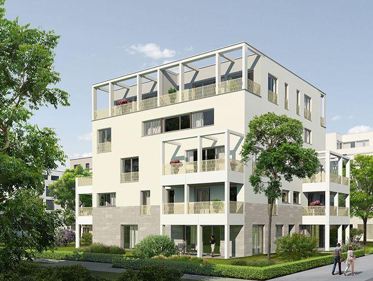 quartier am henninger turm neubau von actris gmbh in frankfurt am main. Black Bedroom Furniture Sets. Home Design Ideas