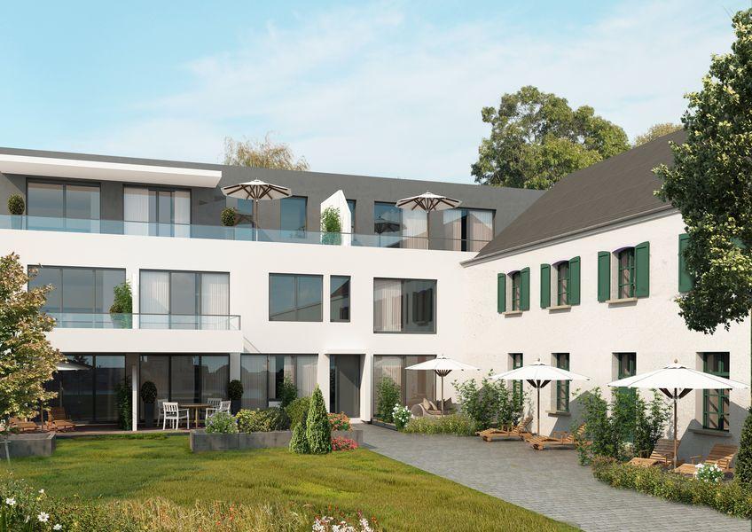 brempter hof uerdingen neubau von denk malgut immobilien gmbh in krefeld uerdingen. Black Bedroom Furniture Sets. Home Design Ideas