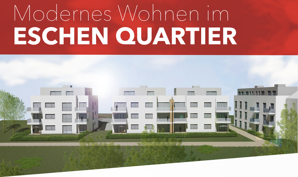 ESCHEN QUARTIER - Neubau von Hüttenbügel Immobilien GmbH in Solingen