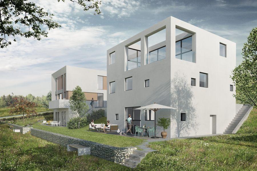 Moderne Architektenhauser Nahe Stuttgart Neubau Ecoshare