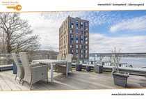 Urbanes Townhouse mit Dachgarten -Terrasse