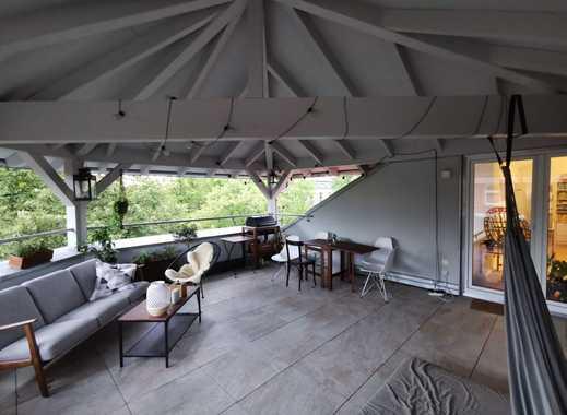 Stylische, familienfreundliche Maisonettewohnung mit Dachterasse