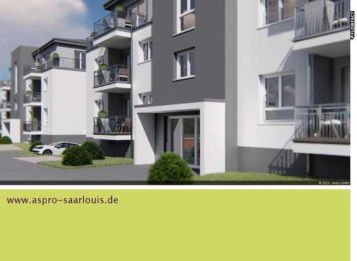 Saarlouis! Neubau! Neue Welt Strasse 7a! 2 Zimmer-Wohnung incl. Kellerraum u. gr. Dachterrasse!