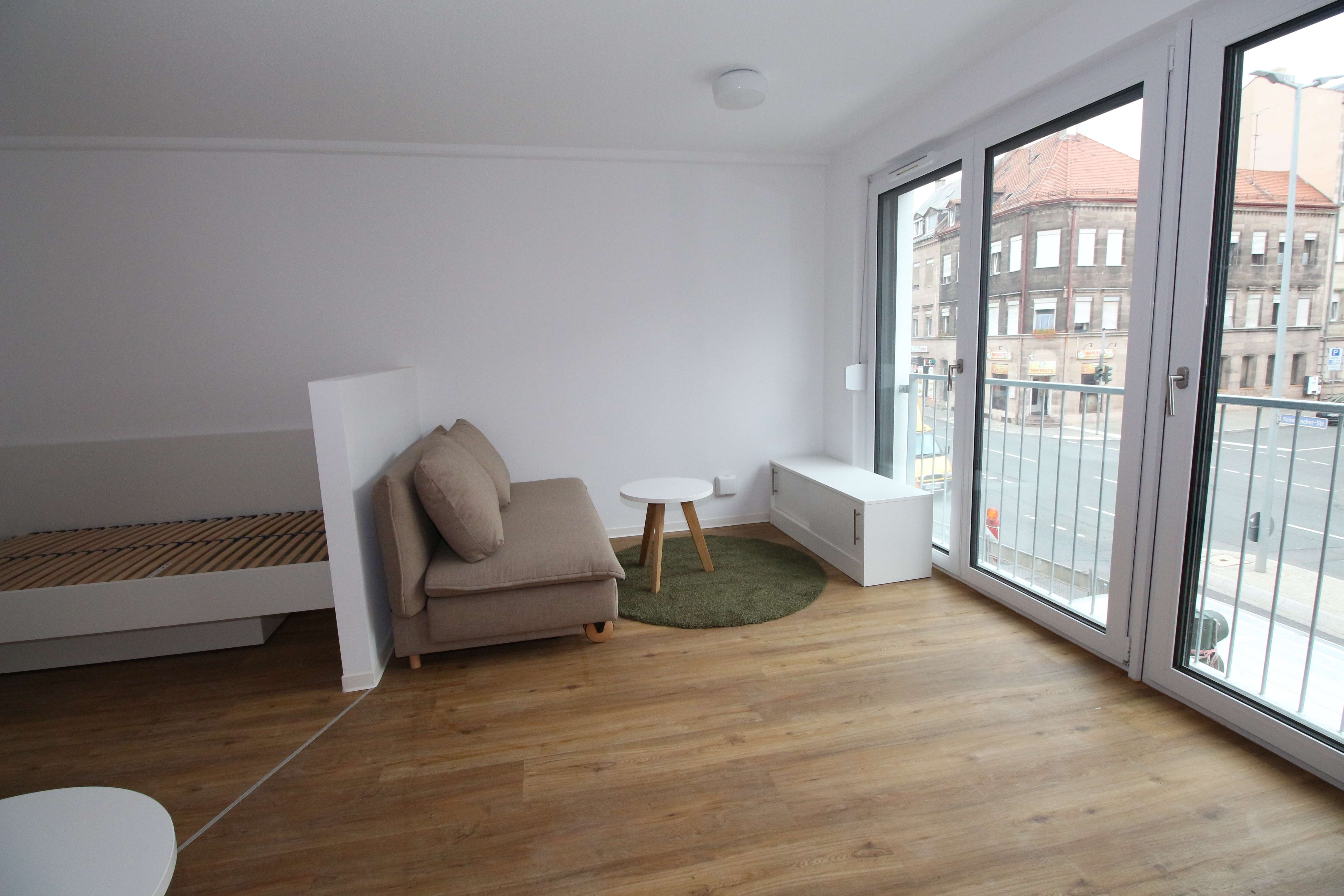 Schickes, voll möbliertes Mikro-Apartment in zentraler Südstadt-Lage in Altstadt, Innenstadt (Fürth)