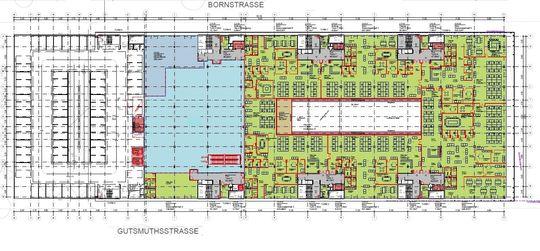 Belegungsplan ca. 3.700 m²
