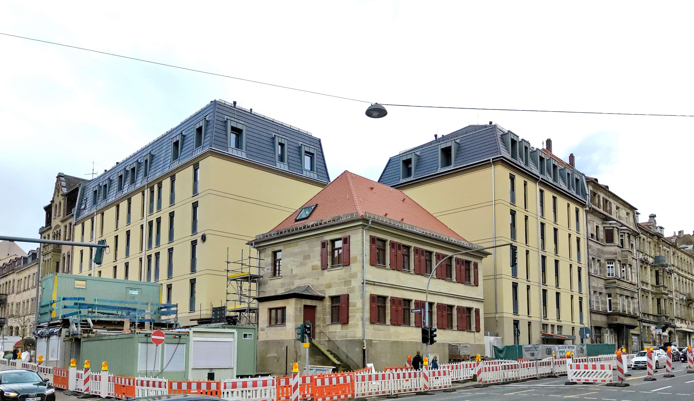 Moderne 2 Zimmer-Wohnung im Zentrum von Fürth in