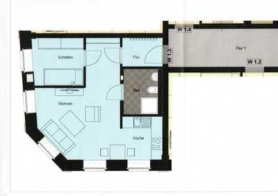 Zwei-Zimmer-Wohnung für ein barrierearmes Leben!