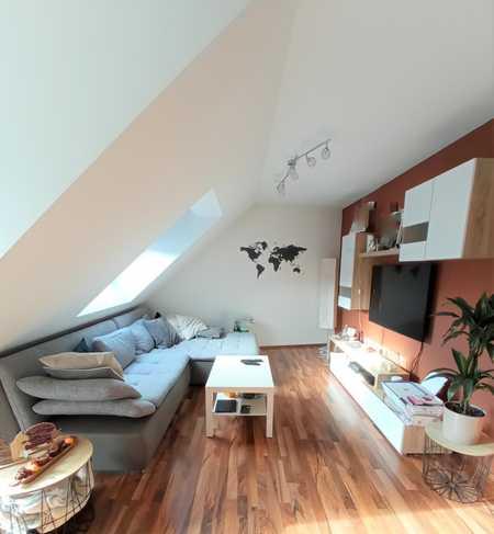 Wunderschöne neuwertige Dachgeschosswohnung in zentraler Lage in Herzogenaurach
