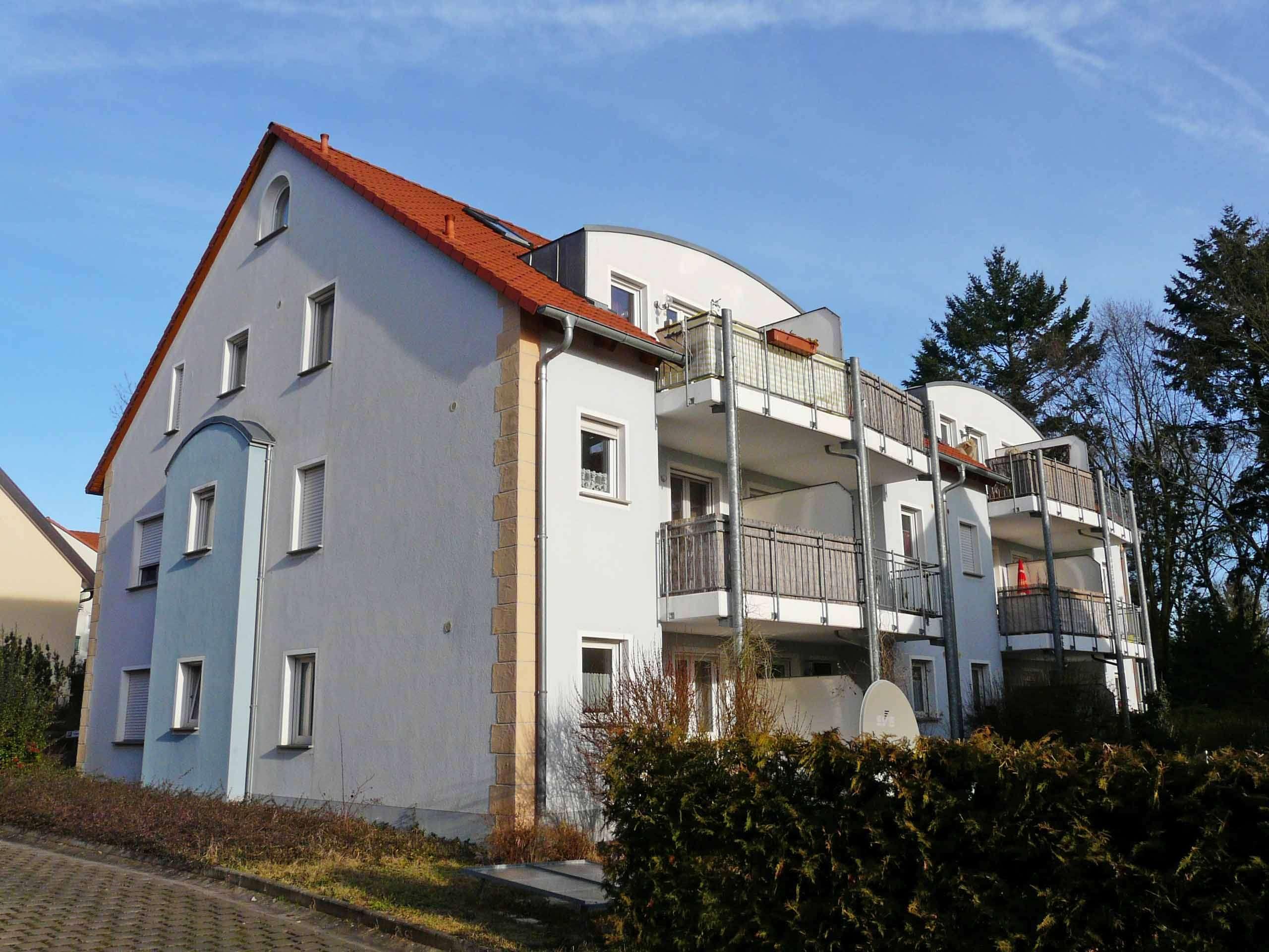 Moderne, großzügige Wohnung auf 2 Etagen mit Balkon und Einbauküche, Wfl. 100m² in Haßfurt (Haßberge)