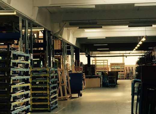 Halle (4.000 m²) mit Büro und Freifläche in  22113 Hamburg zu vermieten