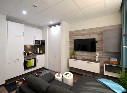 Kleines Wohnglück! Möbliertes 1-Zimmer-Apartment im Offenbacher Zentrum nahe der Fußgängerzone