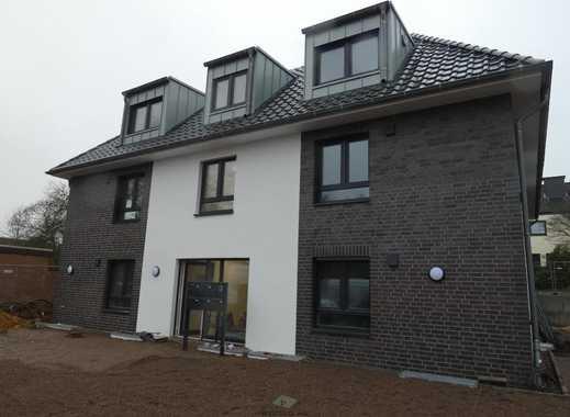 Neubau in Oyten: Gut geschnittene Zwei-Zimmer-Wohnung mit Gartenanteil