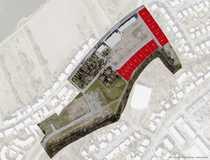 Fünf Baugrundstücke 474 m² bis