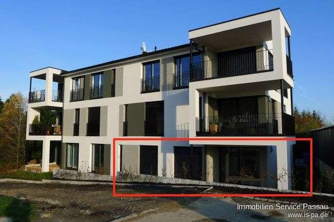 Helle 3-Zimmerwohnung (Erdgeschoß) in Waldkirchen mit Gartennutzung und Keller!