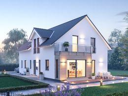 Haus Ansicht Seite Eingang